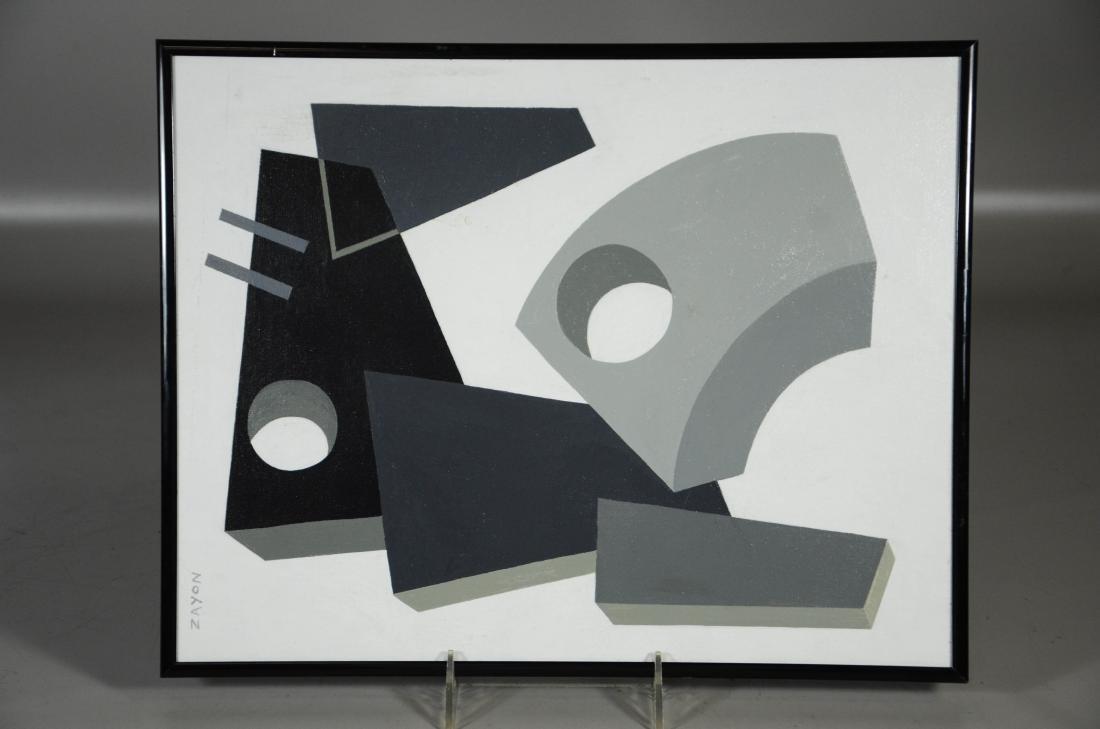 Seymour Zayon (American, PA, b 1930), en grisaille - 2