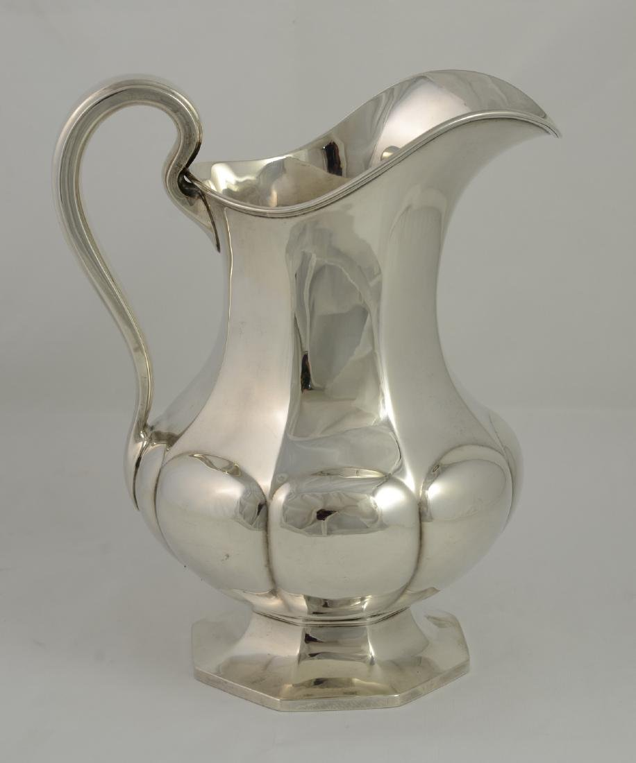 Reed & Barton Sterling Silver Lobed-Gourd Form Water Pi