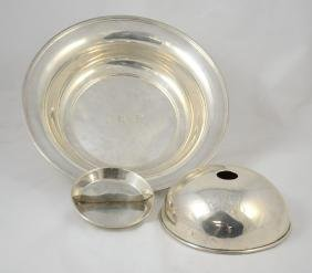 3 Pieces DuPont Family Sterling Silver