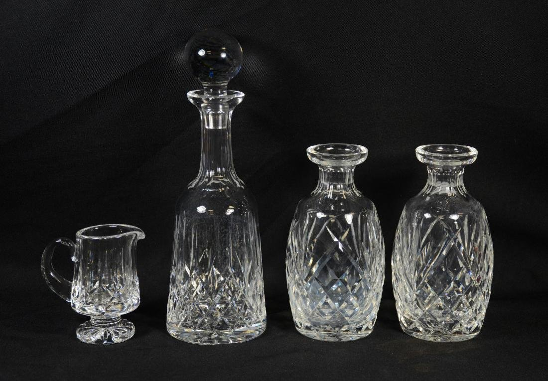 (4) Pieces of Waterford Crystal
