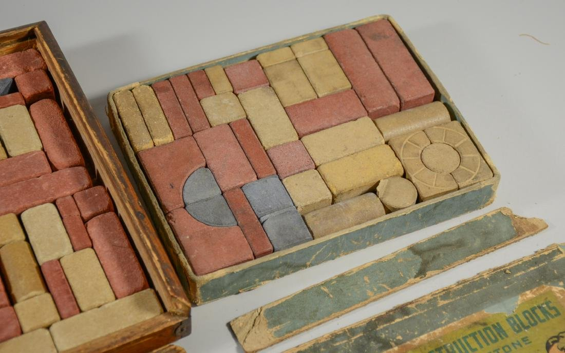 Two Boxes of Stone Blocks - 4