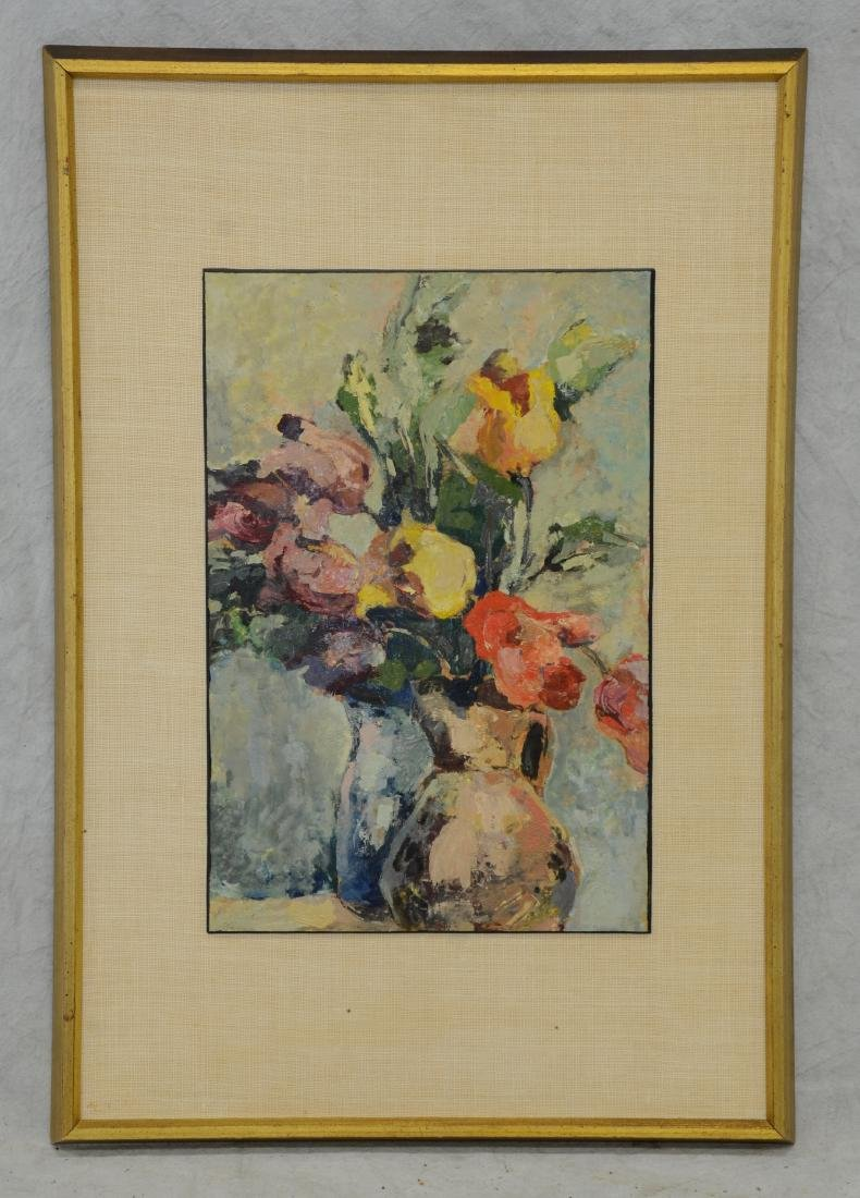 Edna Gass, American, Floral Still Life Painting - 2