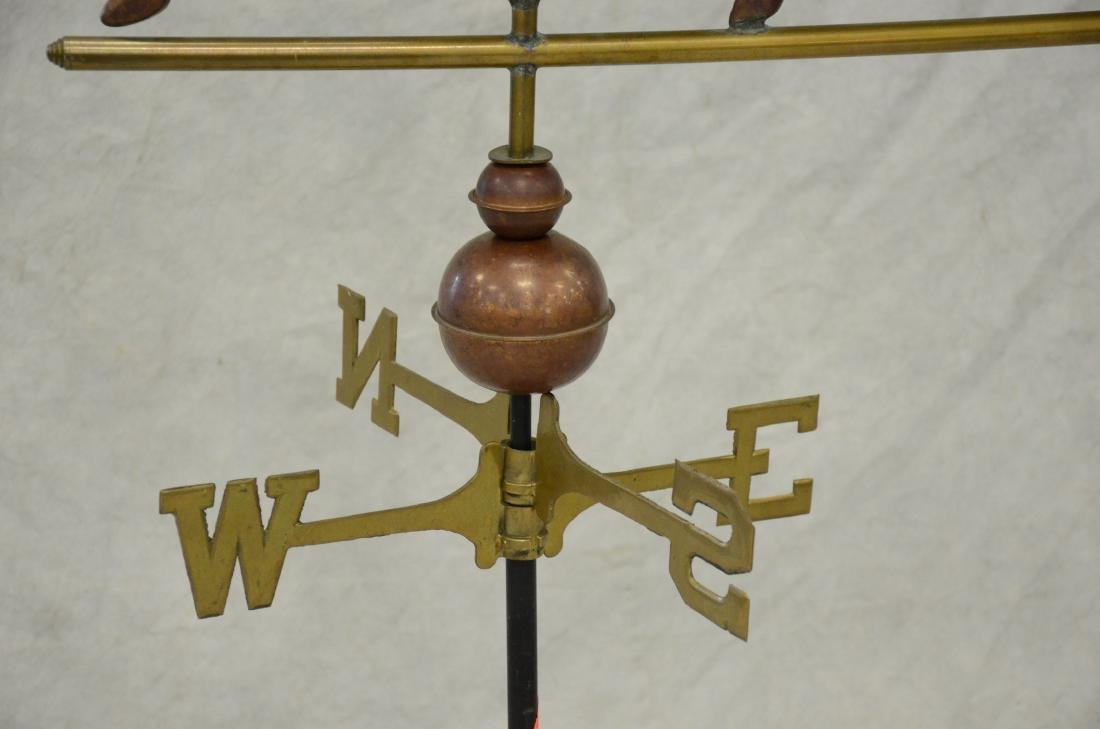 Copper, Brass and Iron Horse Weathervane - 4