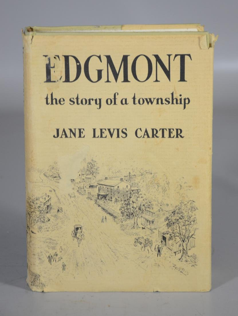 Edgemont Book by Jane Carter, Signed