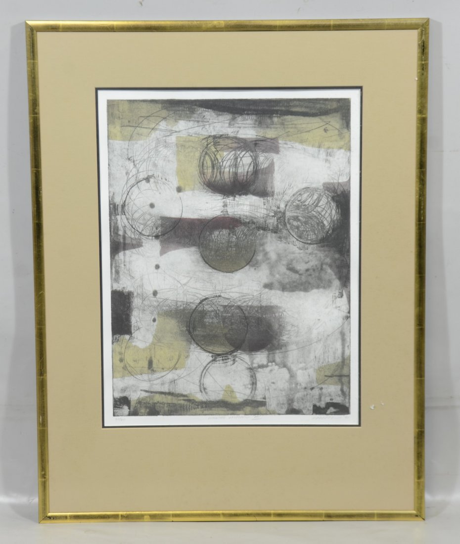 3 Lithographs, Circular Section I, II & III - 2