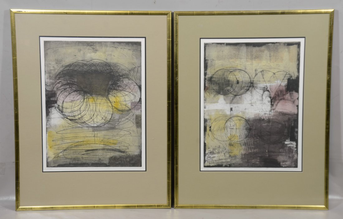 3 Lithographs, Circular Section I, II & III - 3