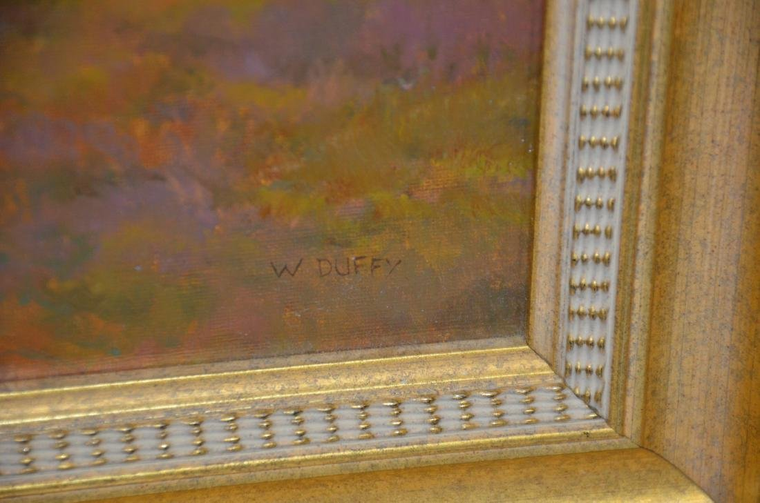 William P Duffy, oil on canvas, Thinking of Maine - 3