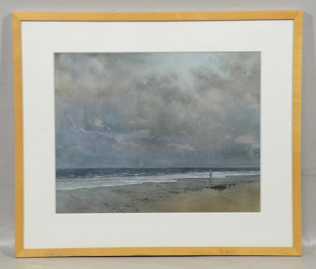 William P Duffy, watercolor, After the Storm - 2