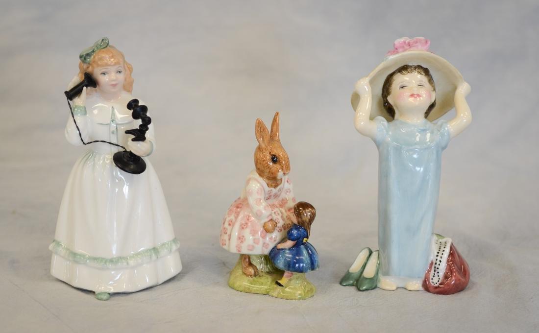 Three (3) Royal Doulton Figurines