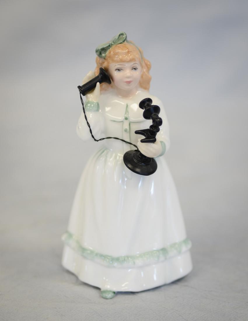 Three (3) Royal Doulton Figurines - 4