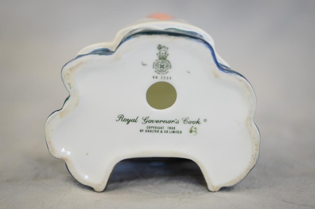 Royal Doulton Royal Governor's Cook Figurine - 5