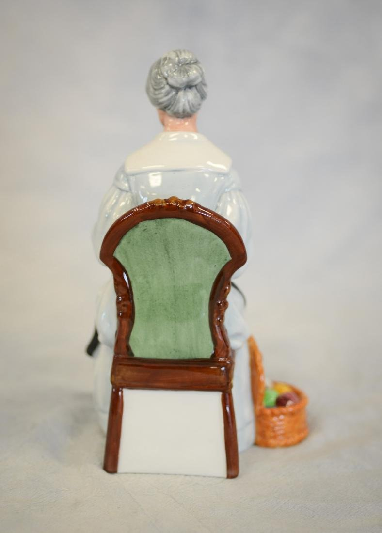 Royal Doulton Embroidering Figurine - 3