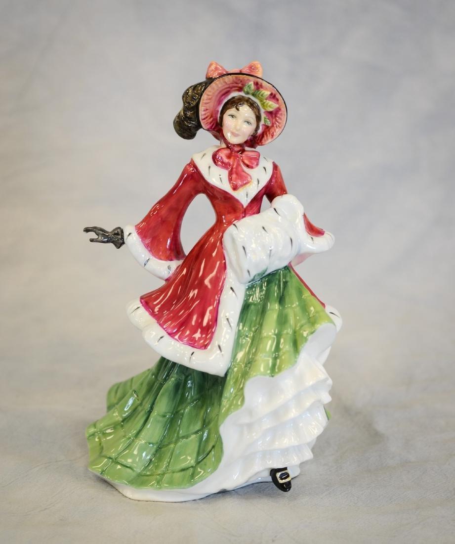 Royal Doulton Wintertime Figurine