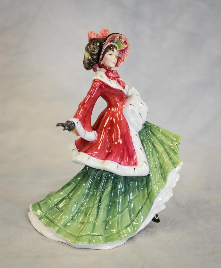 Royal Doulton Wintertime Figurine - 2