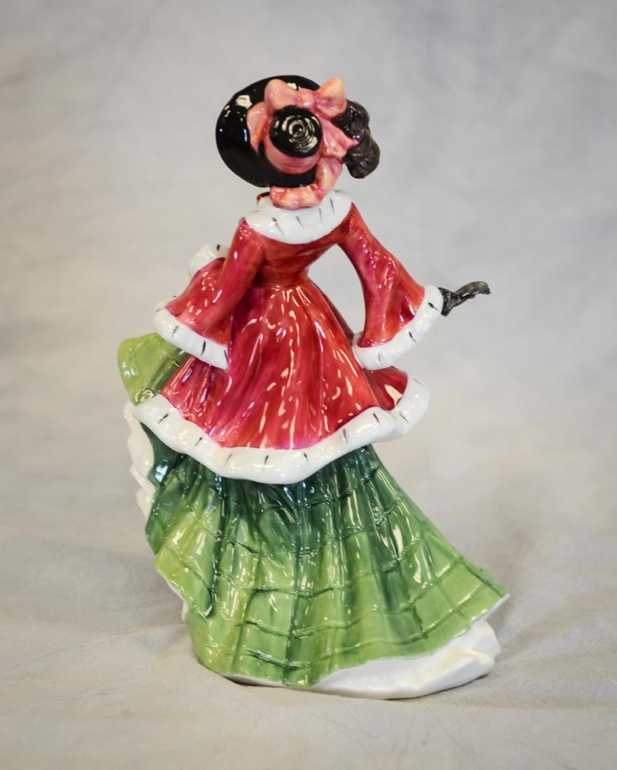Royal Doulton Wintertime Figurine - 3
