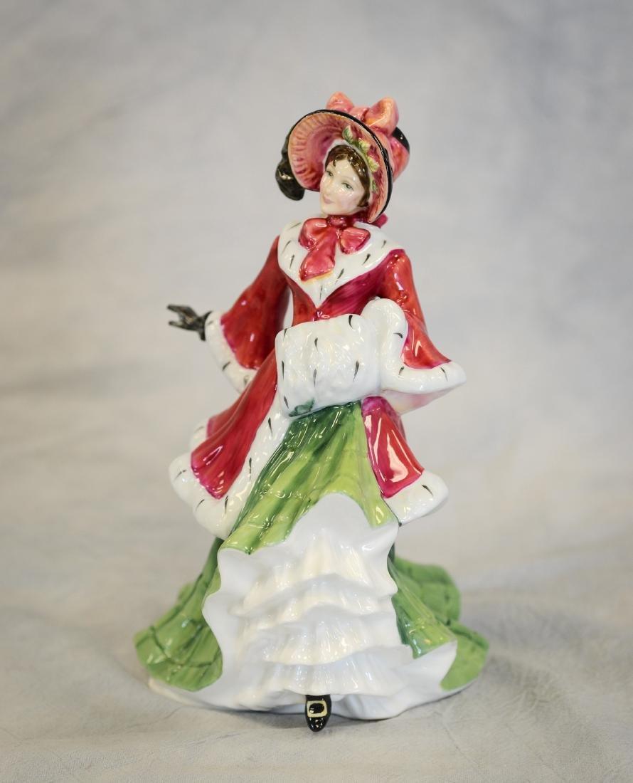 Royal Doulton Wintertime Figurine - 4