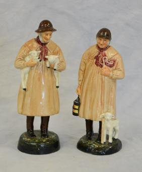 Two (2) Royal Doulton Figurines