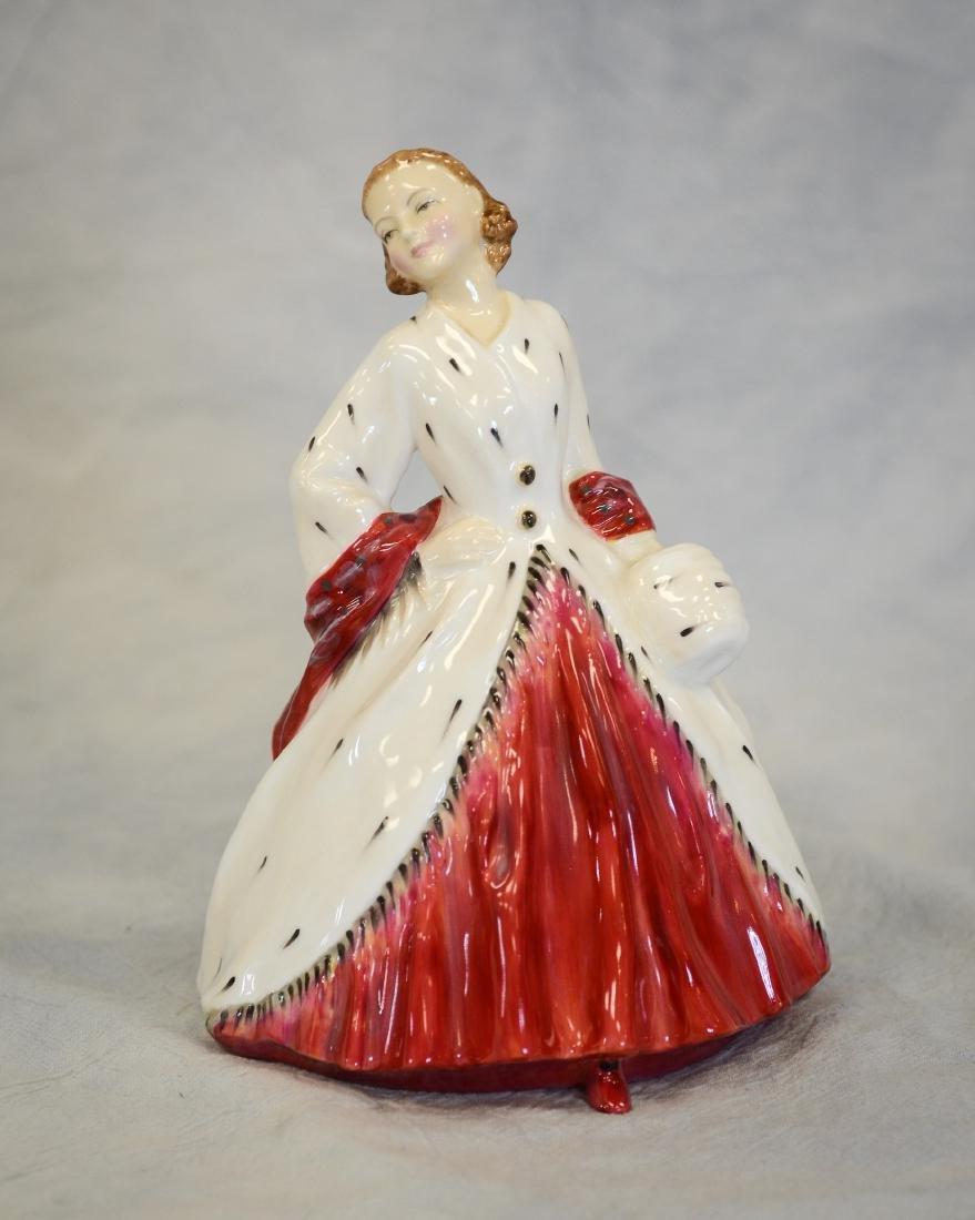 Royal Doulton The Ermine Coat Figurine