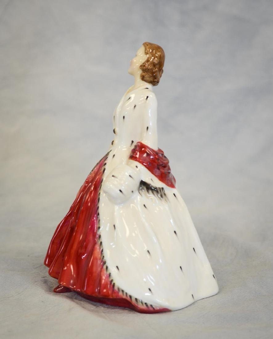 Royal Doulton The Ermine Coat Figurine - 2