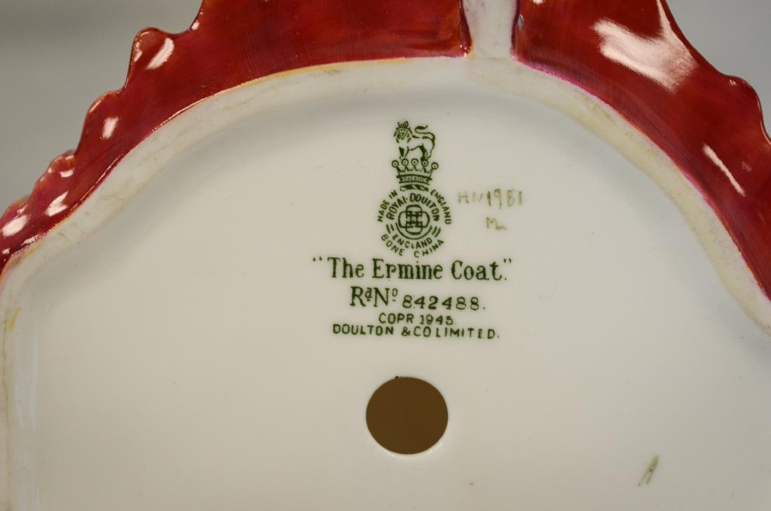 Royal Doulton The Ermine Coat Figurine - 5