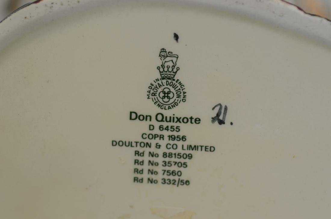 Royal Doulton Don Quixote Toby Figurine - 5