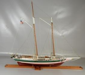 "Ship Model, ""The Lady Maryland"", Chesapeake Bay Punty"