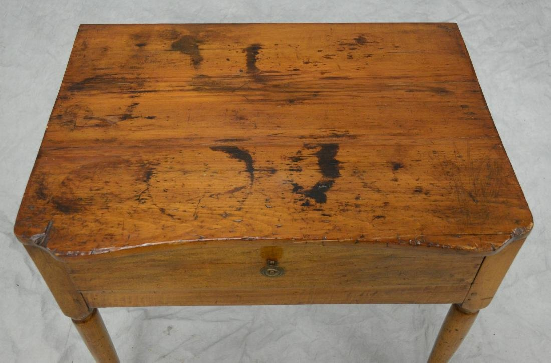 Pine & Maple One Drawer Stand - 3
