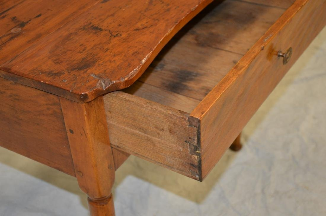 Pine & Maple One Drawer Stand - 4