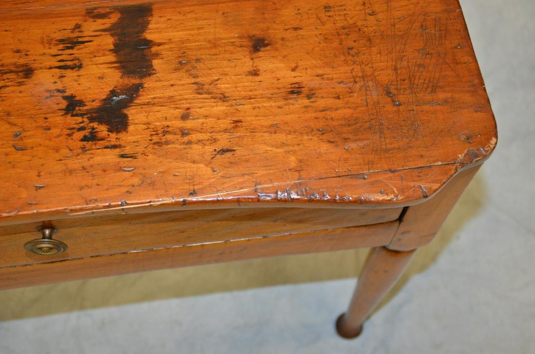 Pine & Maple One Drawer Stand - 5