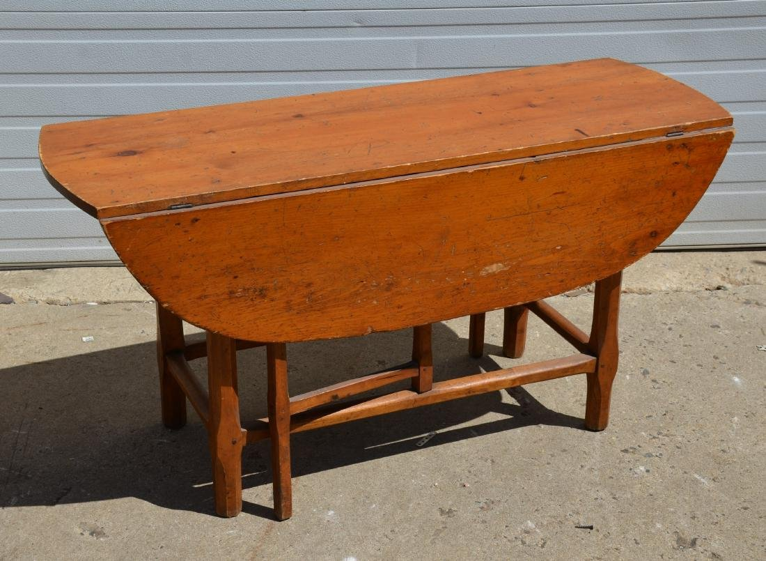 Country Pine Drop Leaf Table