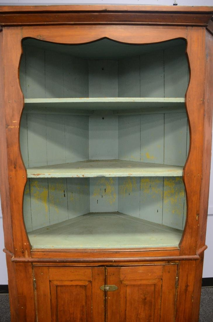 Open Front Corner Cupboard - 2