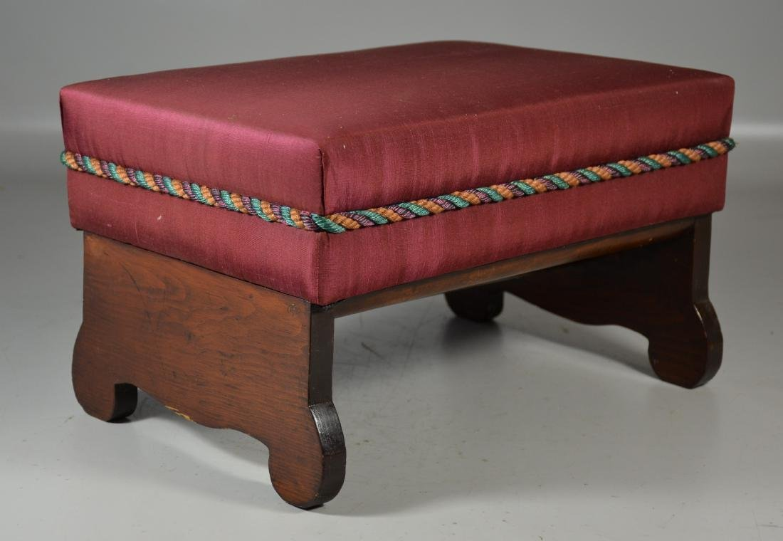 Pine Footstool with Lift Lid