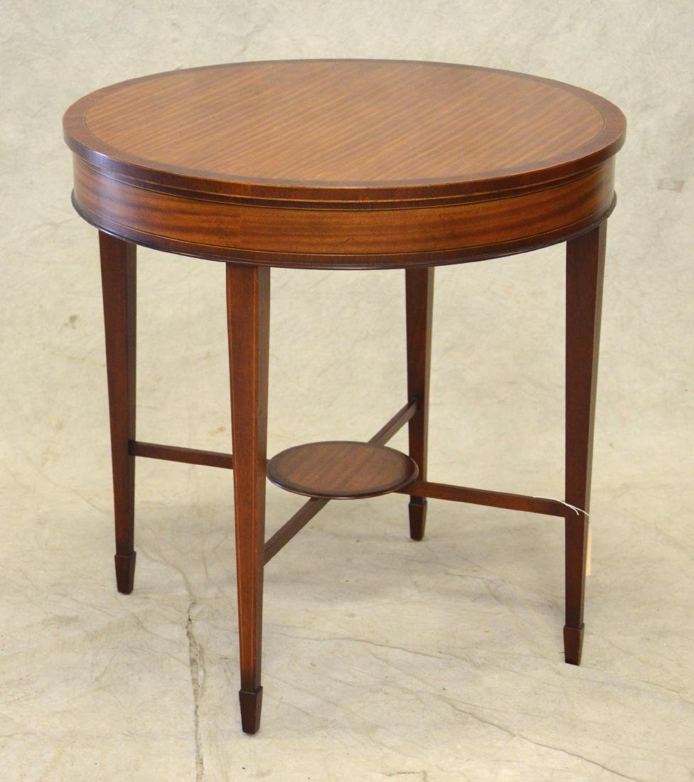 Baker Round Occasional Table