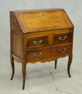 French Country Slant Front Desk