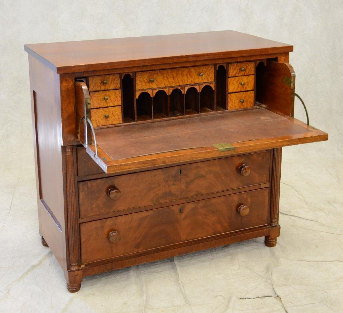 American Empire Butler's Chest and Desk - 2