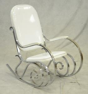 Chrome Rocking Chair