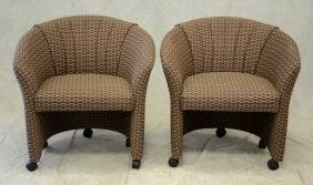Nightingale Corp Pair of Upholstered Side Chairs