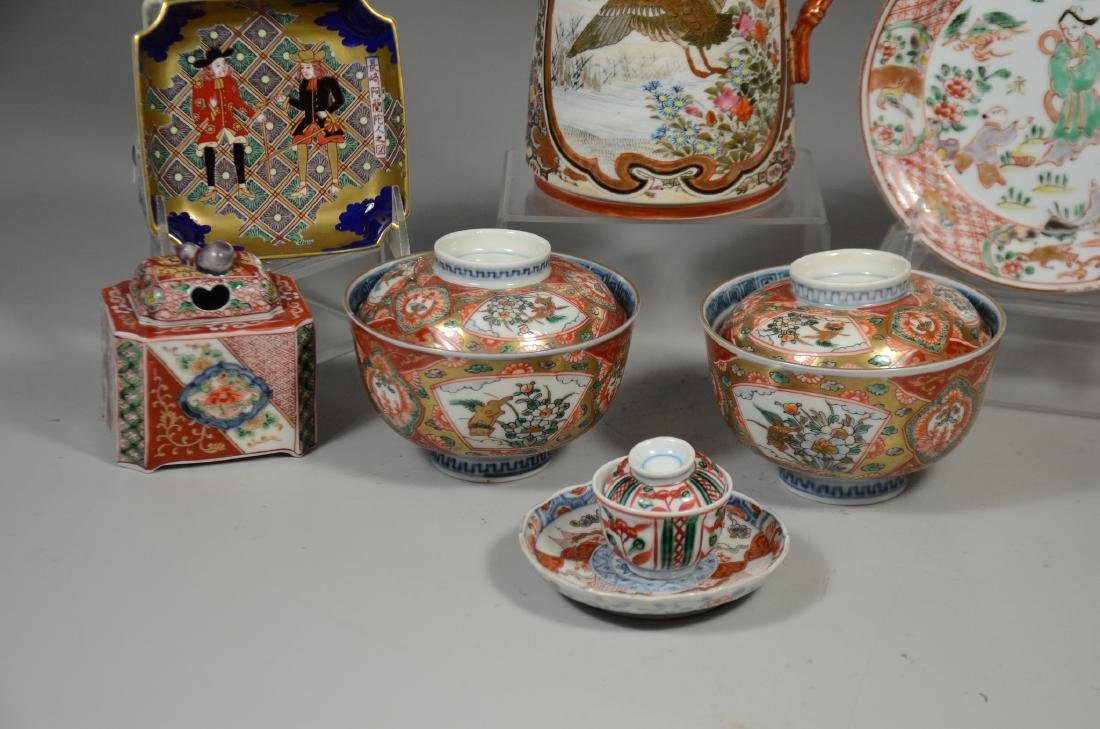 Eight (8) Pieces of Japanese Porcelain - 2