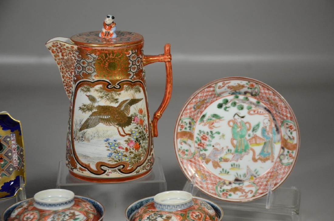 Eight (8) Pieces of Japanese Porcelain - 3