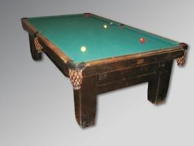 Brunswick, Balke, Collender & Co Billiard Table