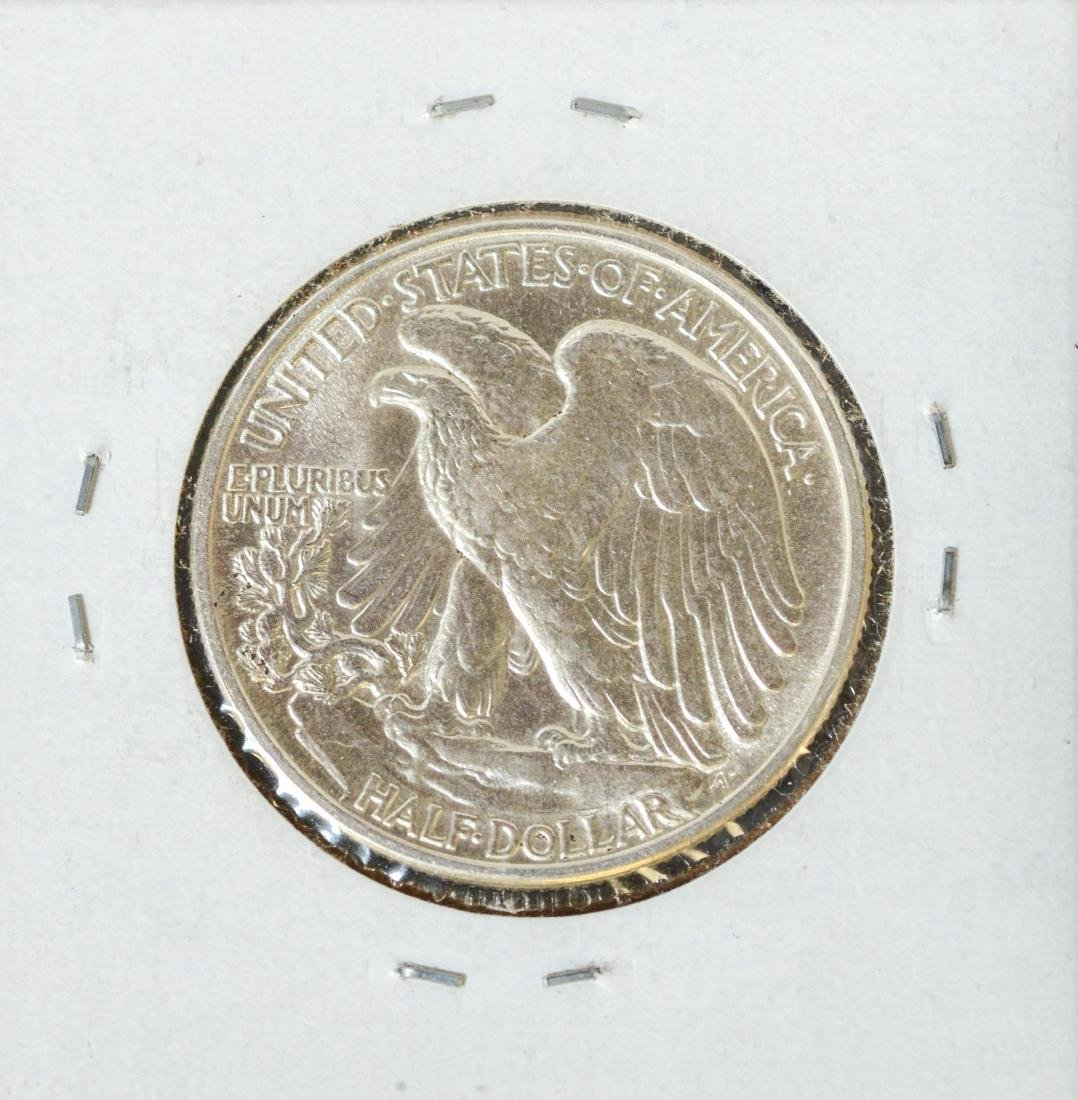 1941 Walking Liberty Half Dollar, UNC - 2