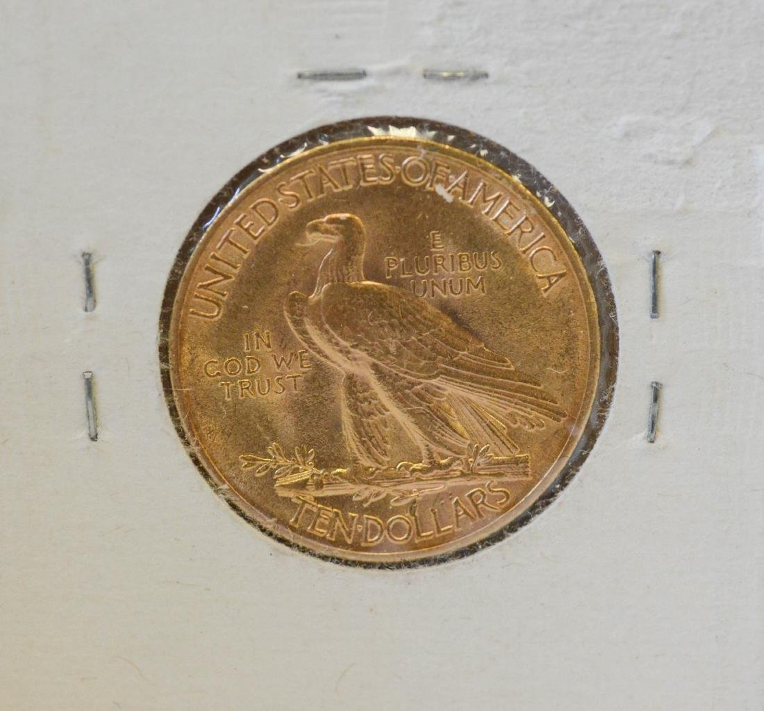 1911 $10 Indian gold coin - 2