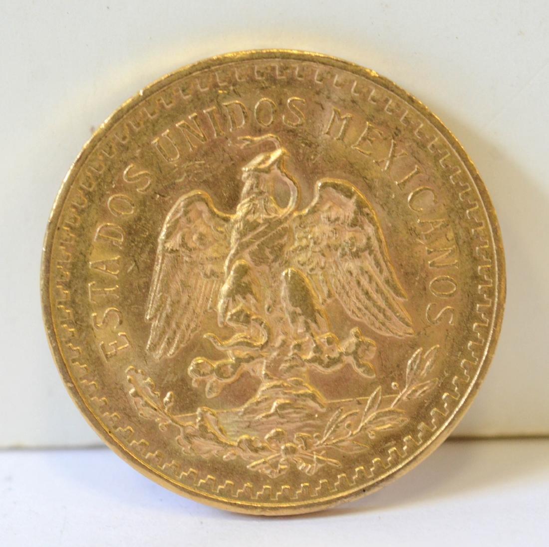 Mexican 50 peso coin - 2