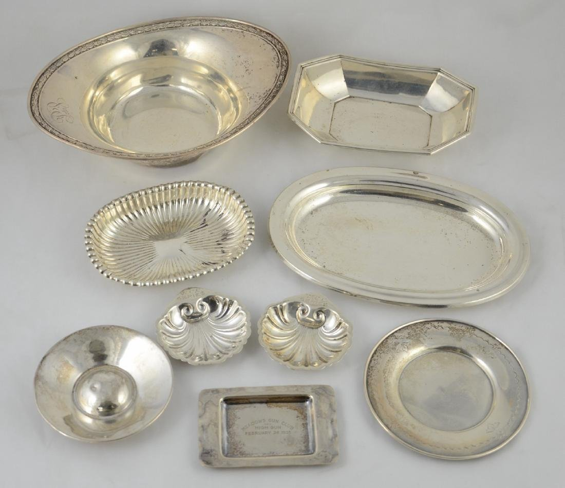 (9) Pieces Sterling Silver Tableware