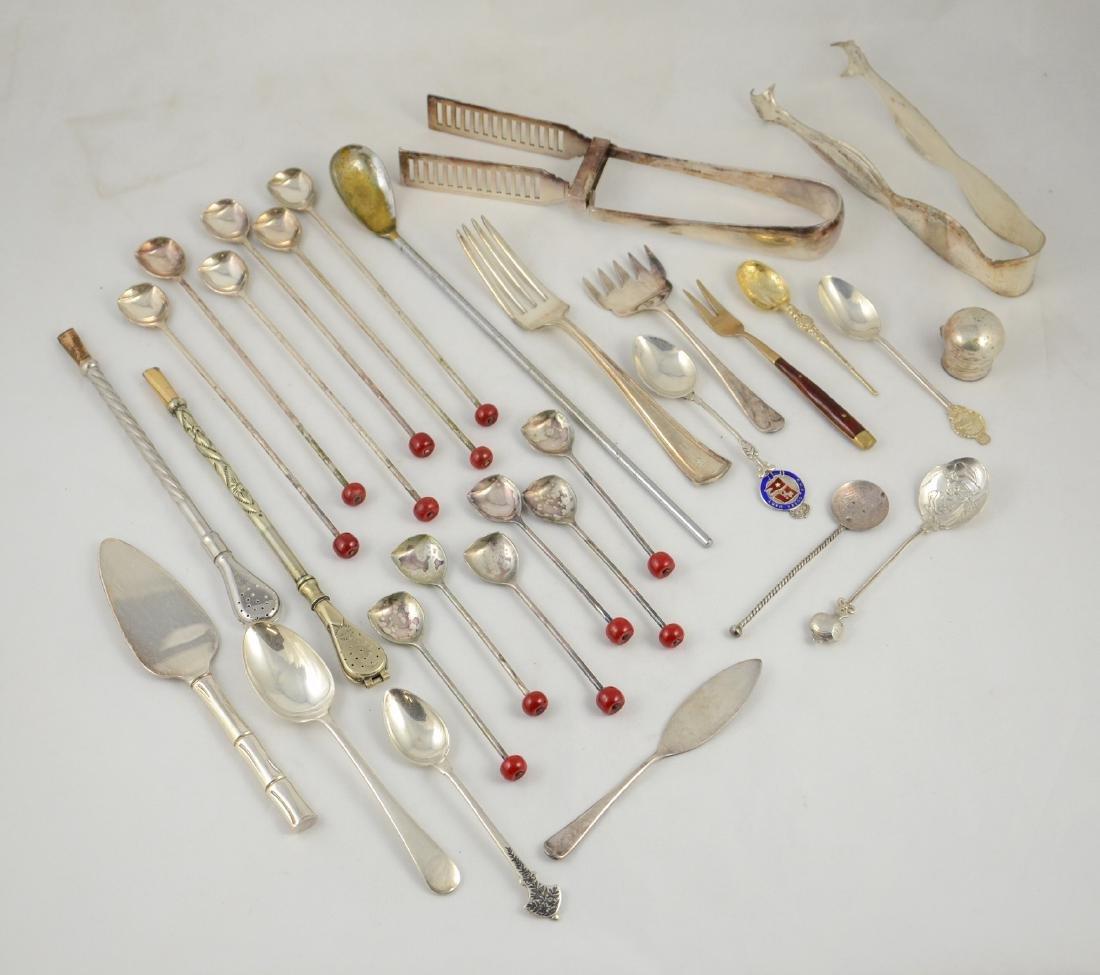 30 pcs plated silver bar/tableware