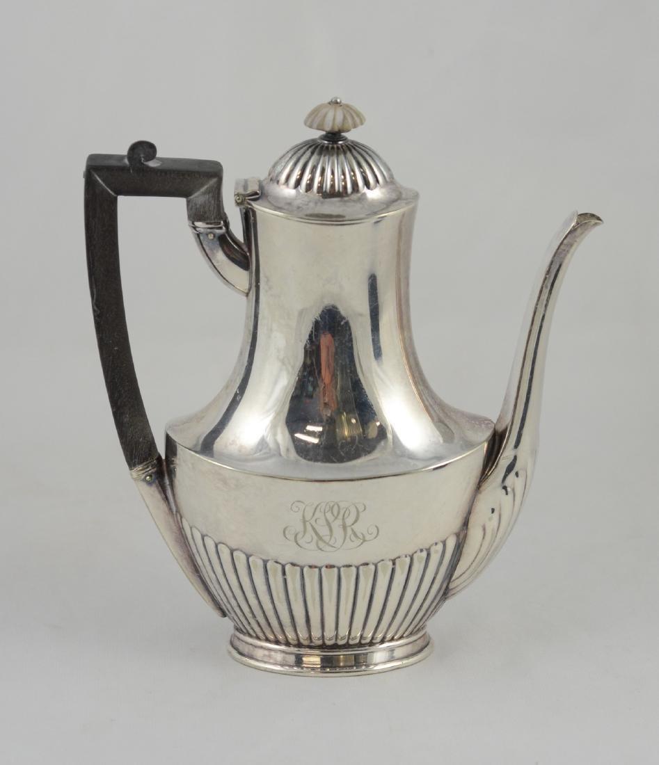 Tiffany & Company silver soldered coffee pot