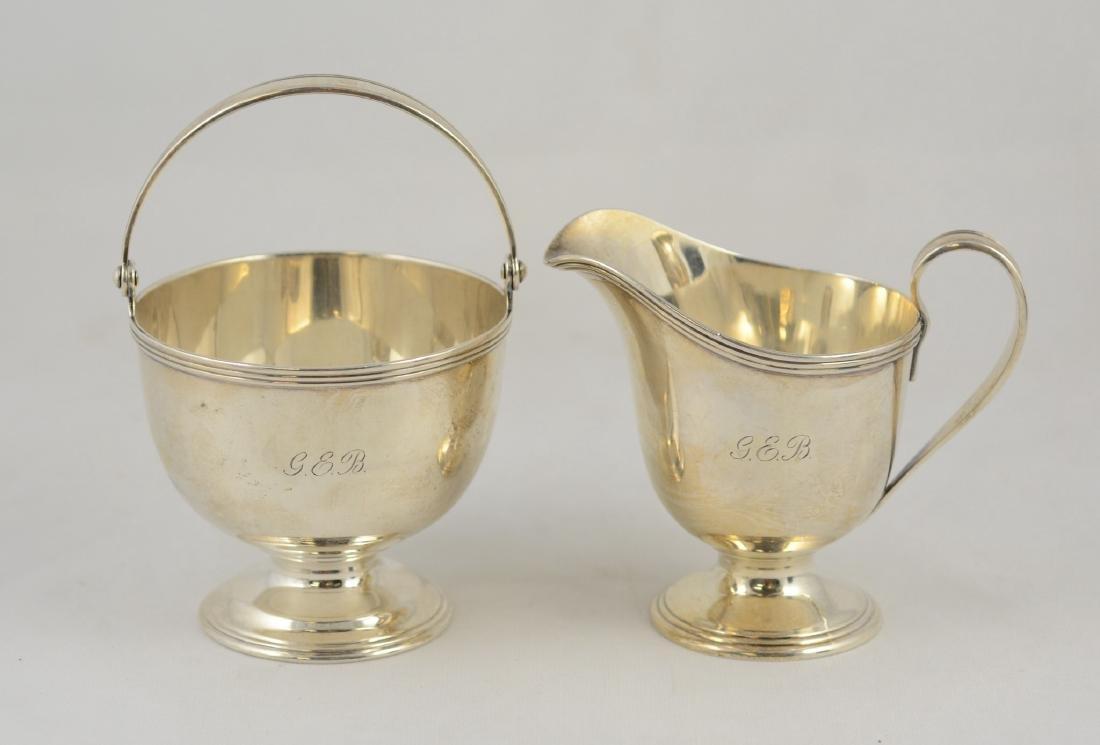 Tiffany & Company sterling silver creamer and sugar