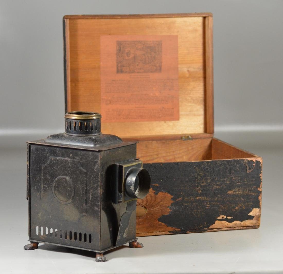 Magic Lantern, Unmarked, in Laterna Magica Box