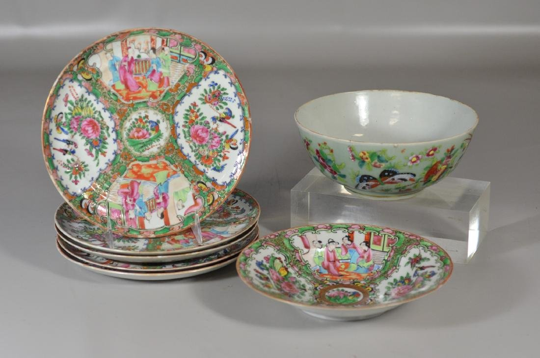 Seven (7) Pieces Chinese Porcelain