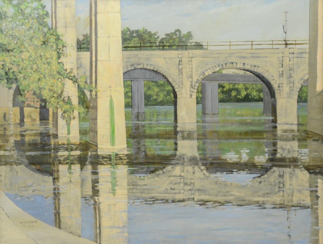 William Martone, Delaware, Schuylkill River Bridge